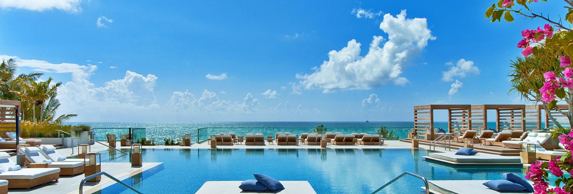 south beach pools beaches 1 hotel south beach