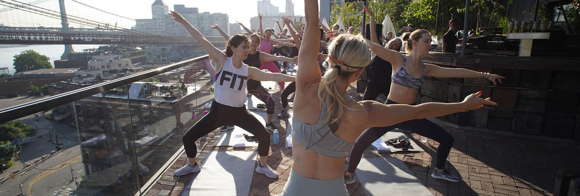 Fitness Event at 1 Hotel Brooklyn Bridge