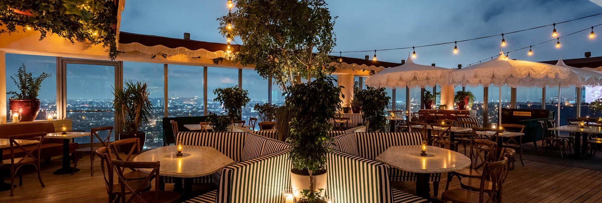 Harriets rooftop bar west hollywood