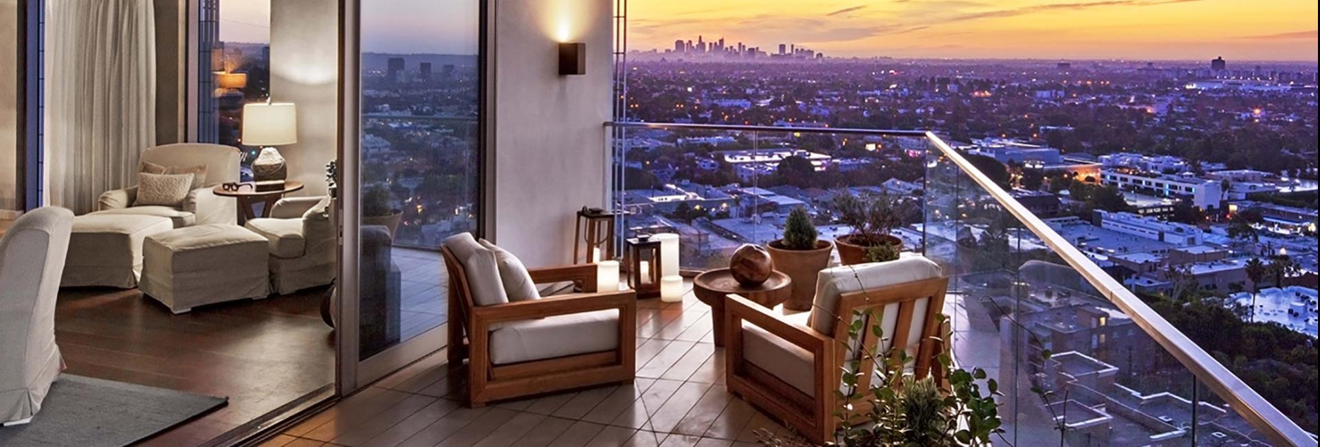 Canyon Penthouse Balcony View