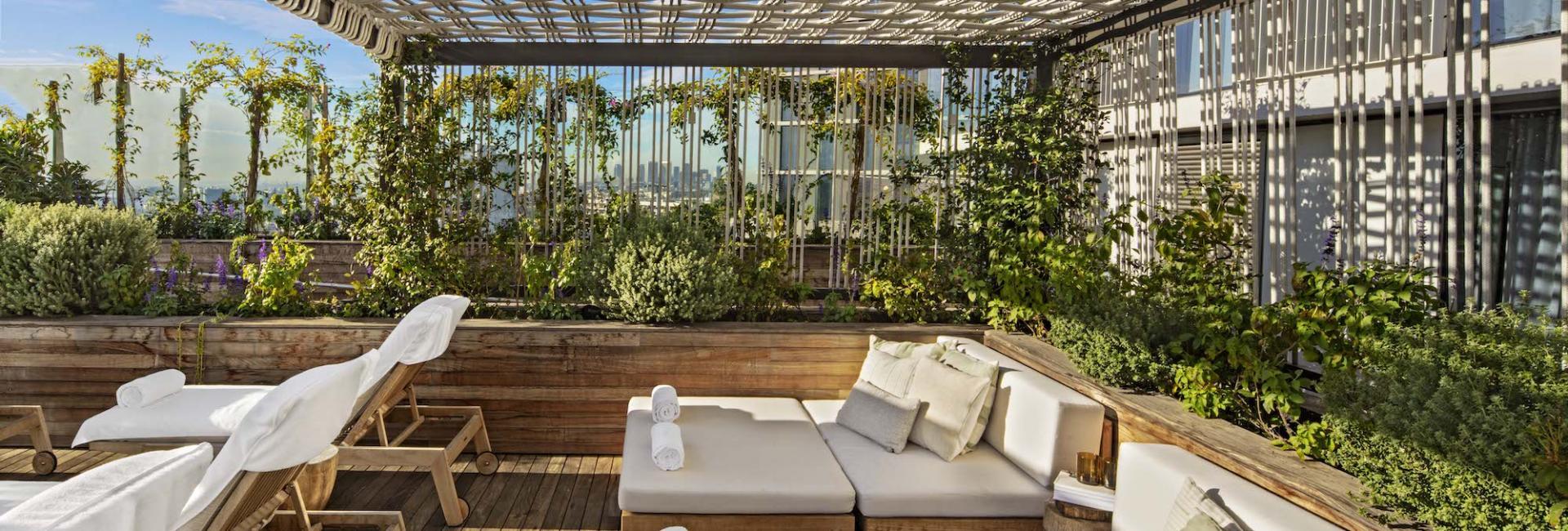 1 Hotel West Hollywood Pool Deck