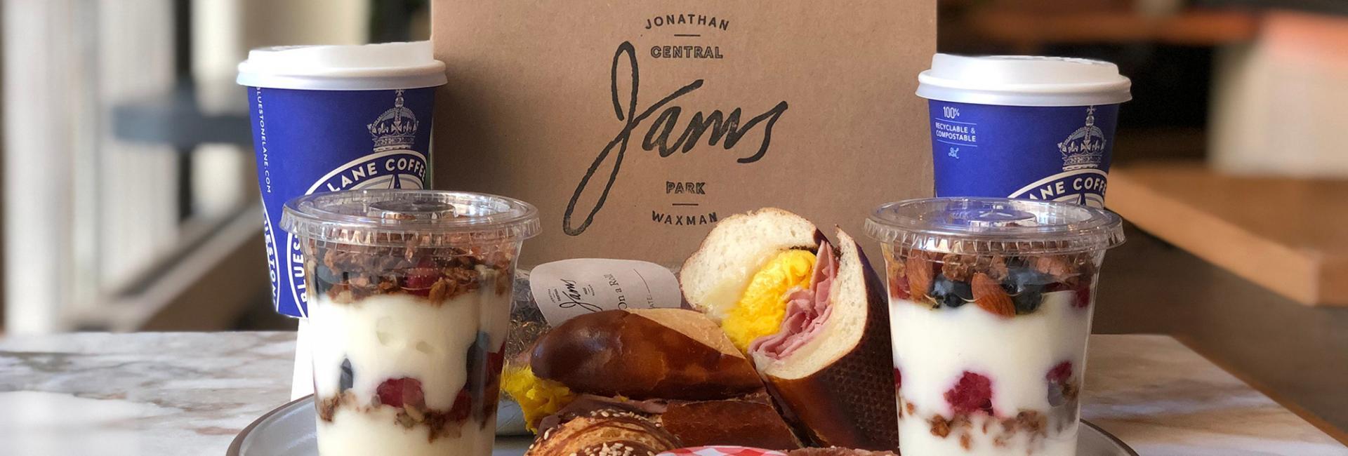 Jams Cafe Breakfast Box