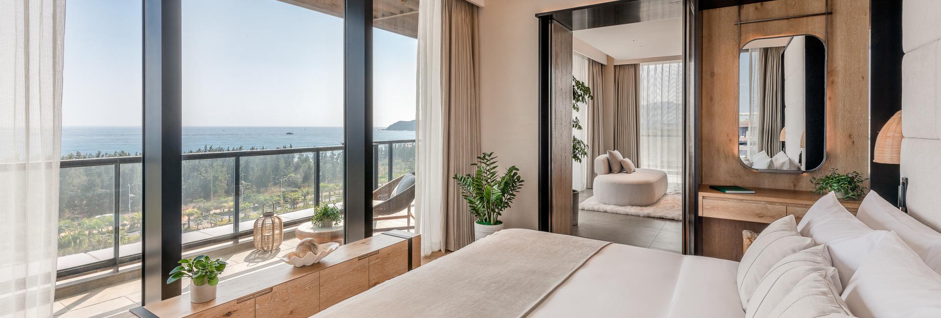 Sky Villa-Bedroom on higher floor