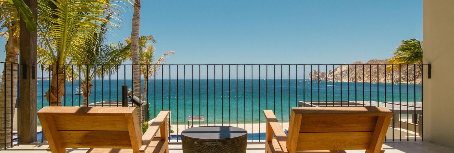 Five Bedroom Beachfront Villa Terrace