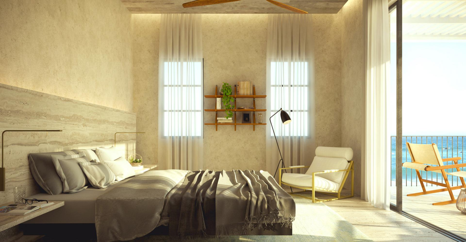 view of bedroom in retreat collection room
