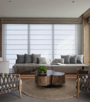Ocean Pool View Suite Living Room