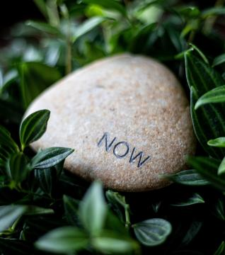 Now/Not Now stone