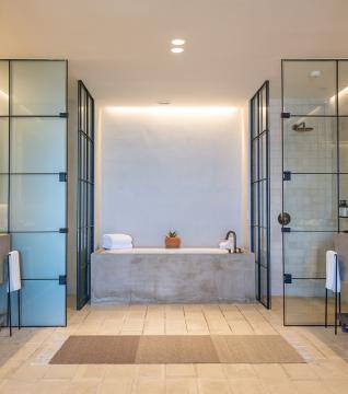 Three Bedroom Plus Den Ocean View Home Bathroom