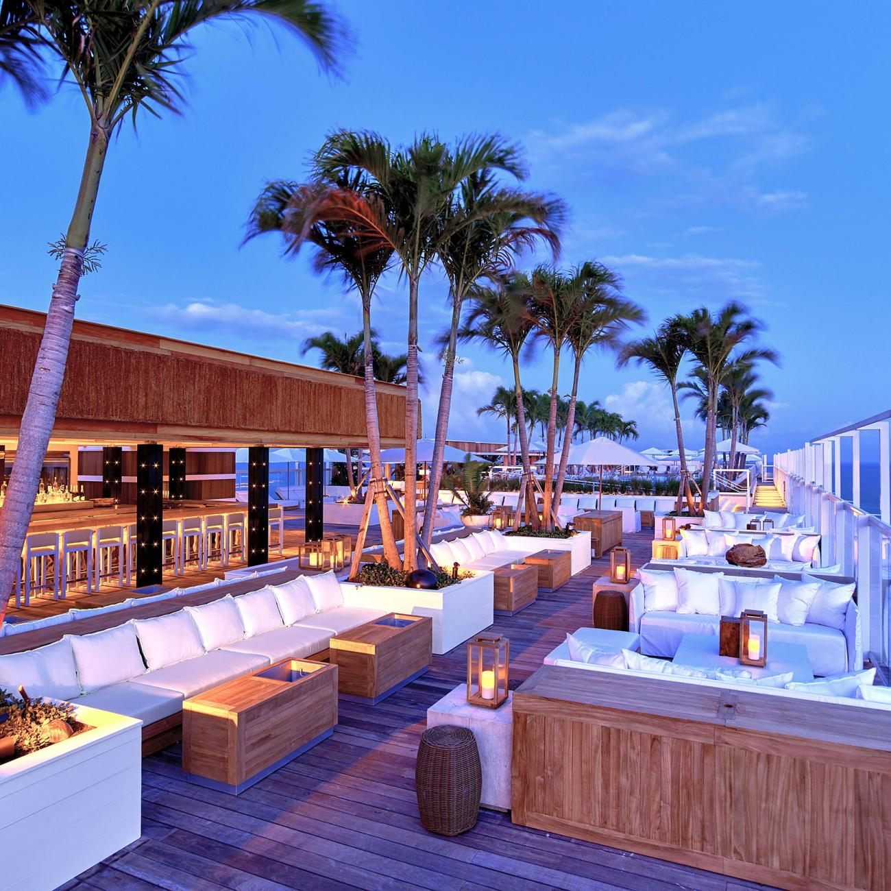 Watr At The Rooftop Restaurant 1 Hotel South Beach